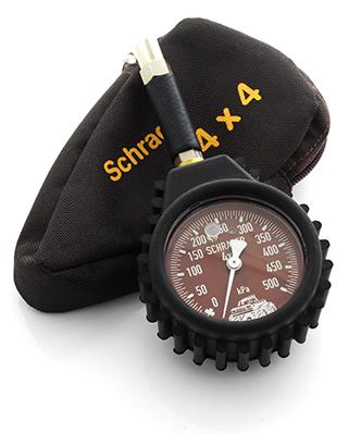 Schrader 4 X 4 Pressure Gauge